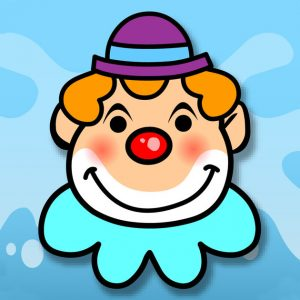 Icon for Splat the Clown app