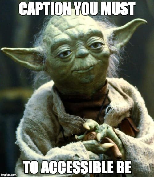 Yoda Caption Meme