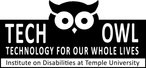 Image of new Tech OWL logo and link to site